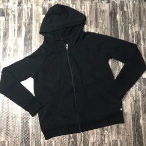 Workout hoodie sweatshirt cute  open back